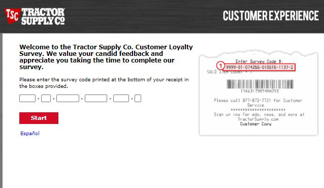 Tractor Supply Co. Customer Loyalty Survey